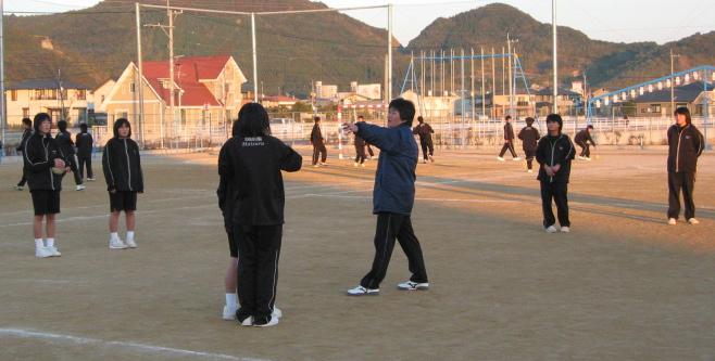 舞鶴中学校ハンドボール部 2004 ...